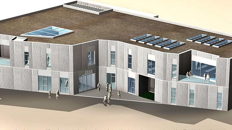 El Centro de Arte albergará   las Escuelas Artísticas  y la biblioteca