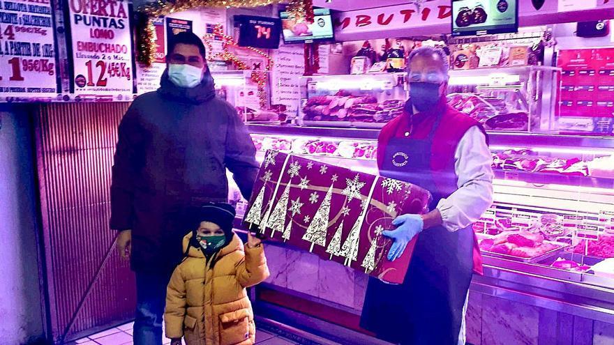 Cuarta cesta de Ballesteros en el Mercado de Abastos
