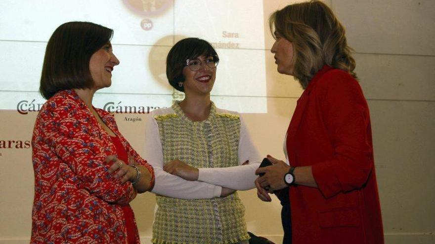 Galería del debate de los candidatos a la alcaldía de Zaragoza