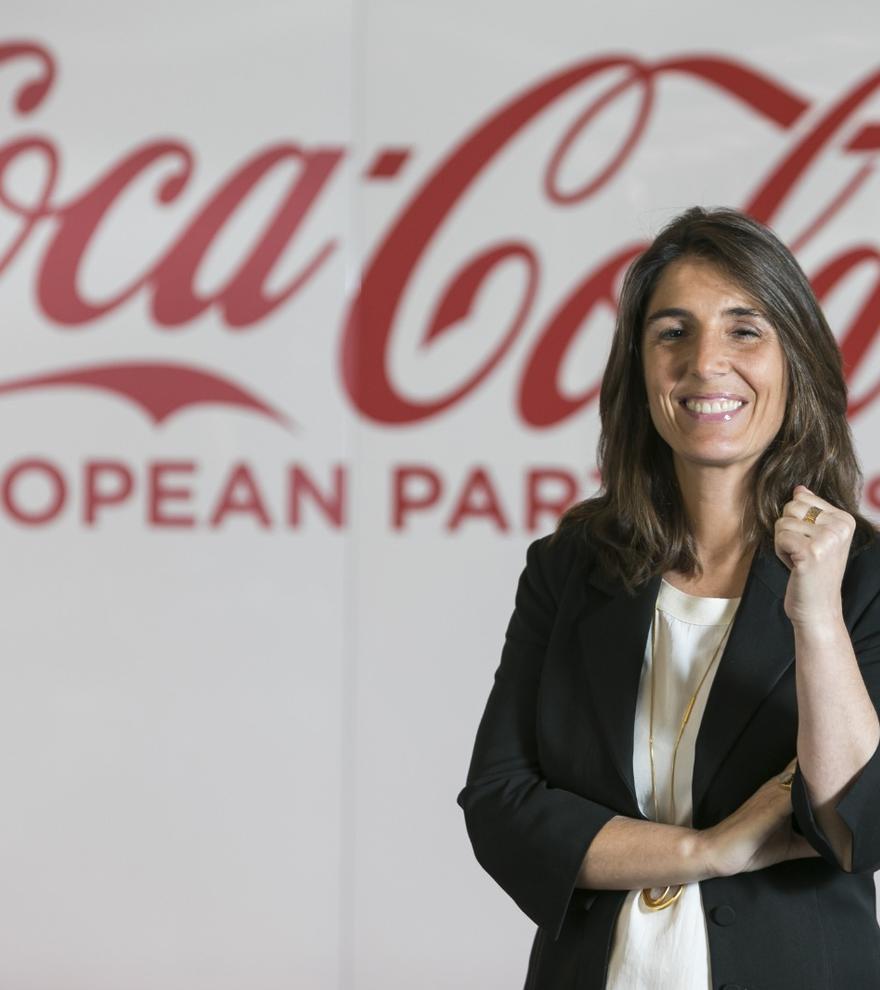 Carmen Gómez-Acebo, directora de responsabilidad corporativa de Coca-Cola European Partners.