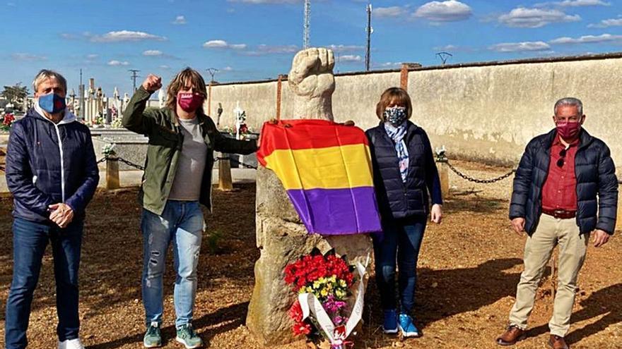 IU Benavente conmemora el aniversario de la II República: recordar para reivindicar