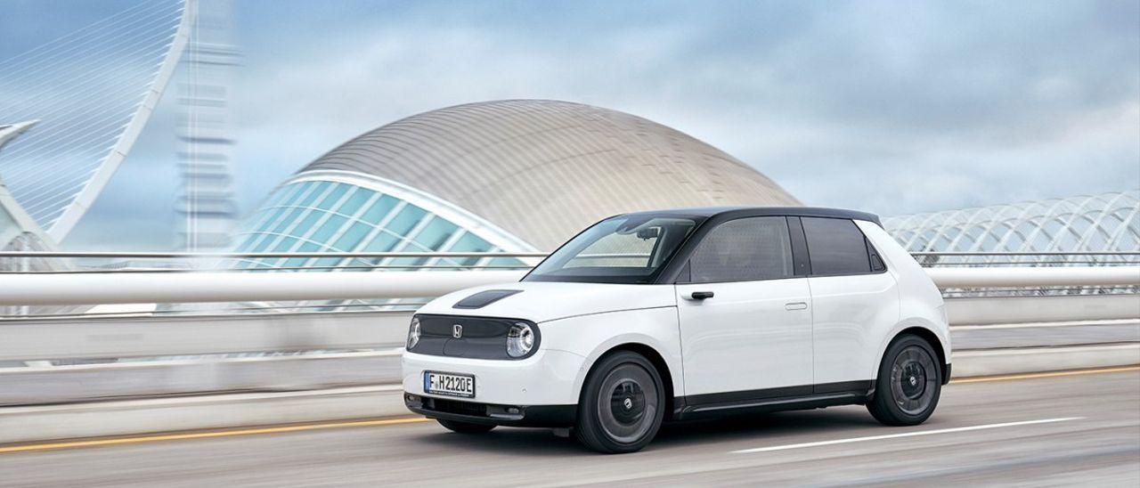 Prueba del Honda e, un urbano eléctrico que no deja indiferente