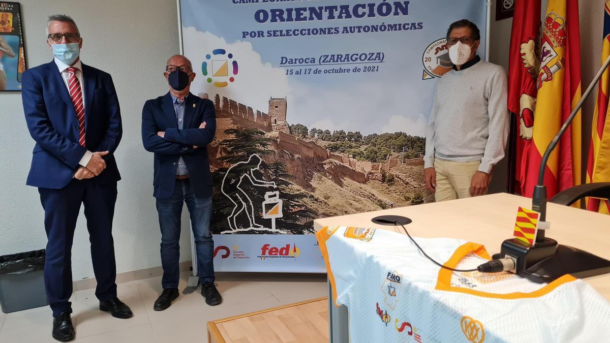 Foto de la presentación del evento.