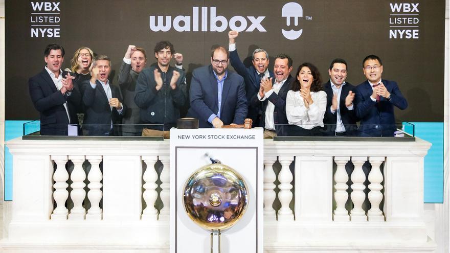 Wallbox arranca su cotización en la bolsa de Nueva York y sus acciones suben un 11%