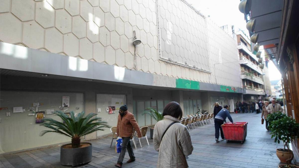La reforma de los antiguos Simago y Palacio del Cine prevé usos residenciales además de hoteleros