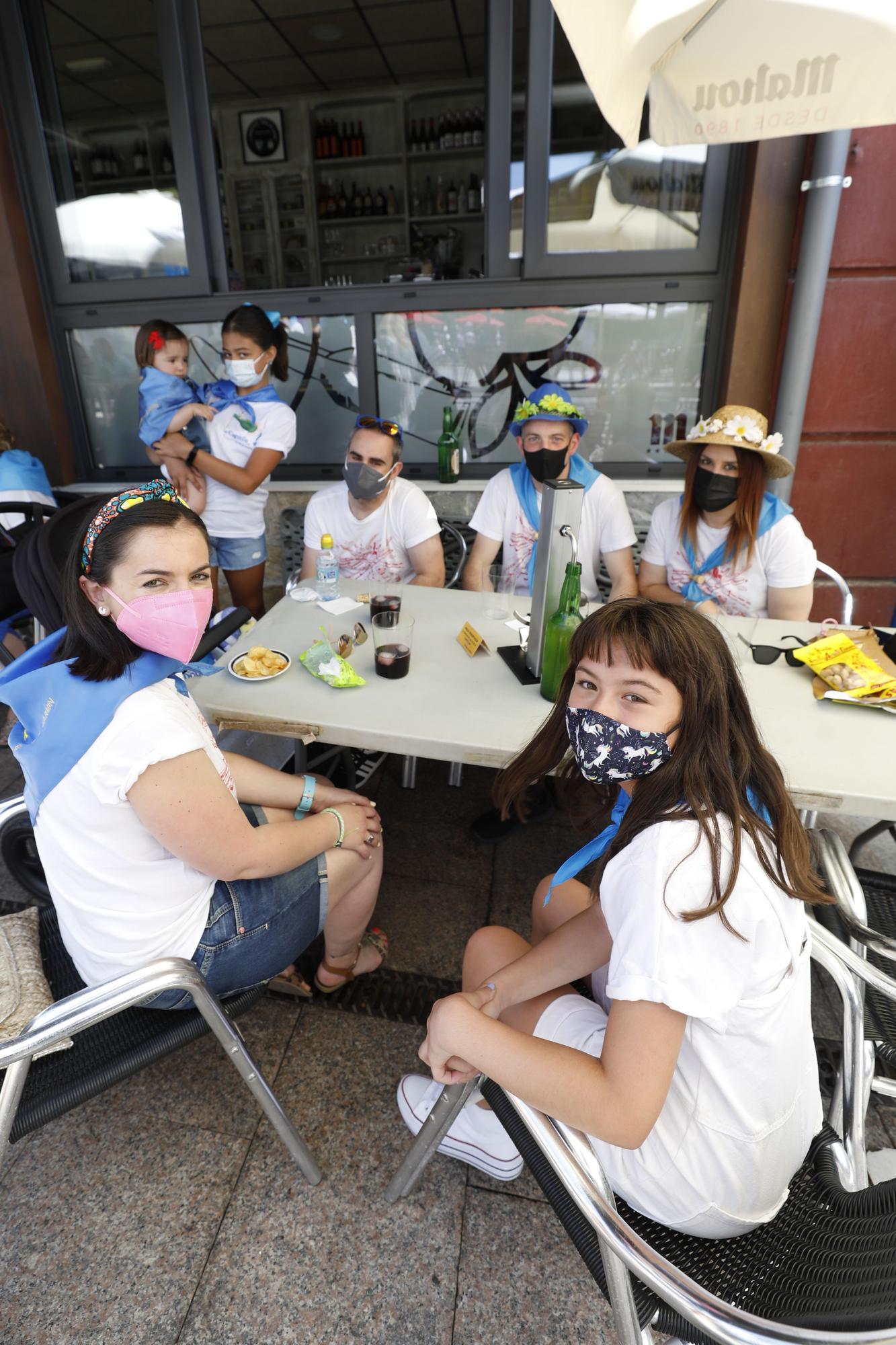 El Carmín que es Carmín: los romeros toman las terrazas
