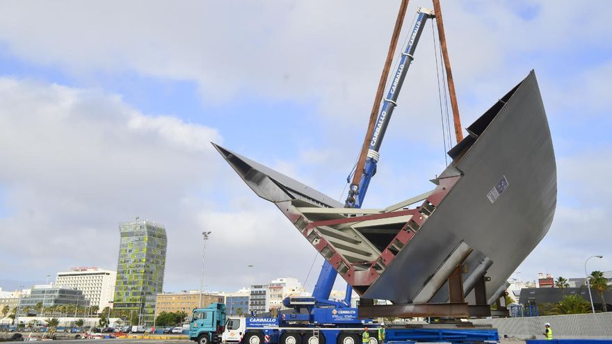 Dos nuevas piezas para la pasarela Onda Atlántica