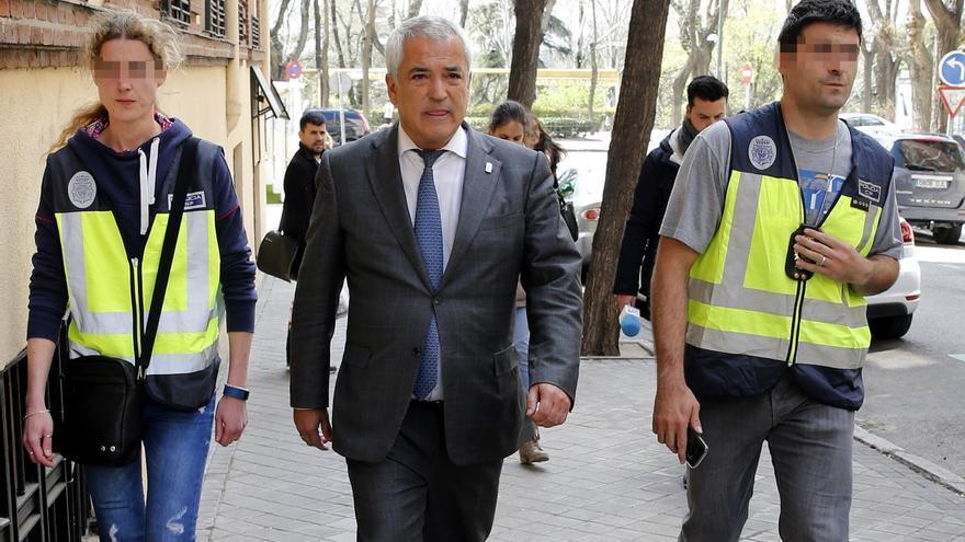 Pineda mantiene que sufrió un montaje del BBVA y Villarejo para destruirle