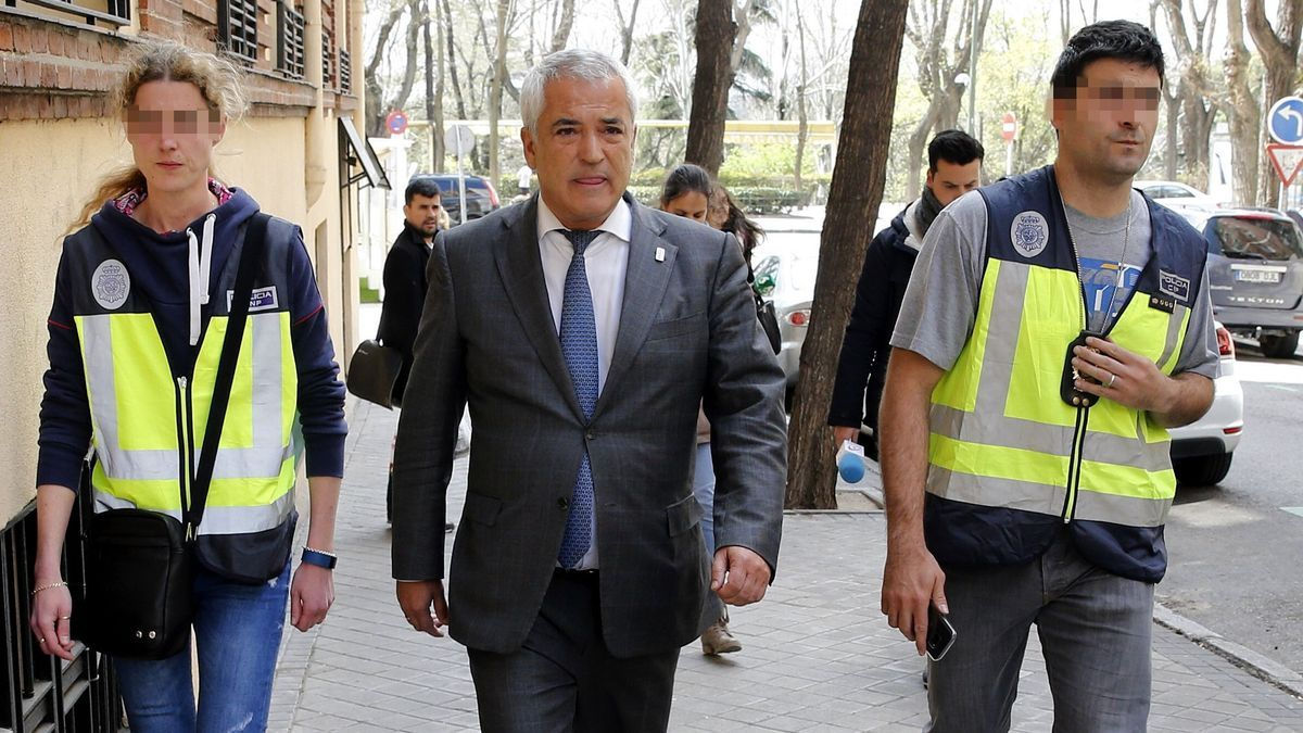 El presidente de Ausbanc, Luis Pineda