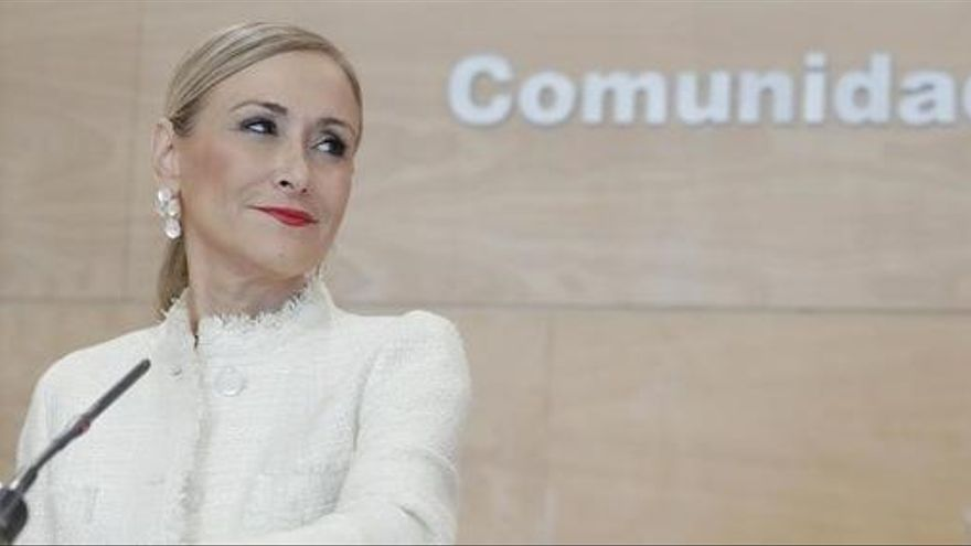 Cristina Cifuentes abandona la taula de «Todo es mentira» després de vuit mesos