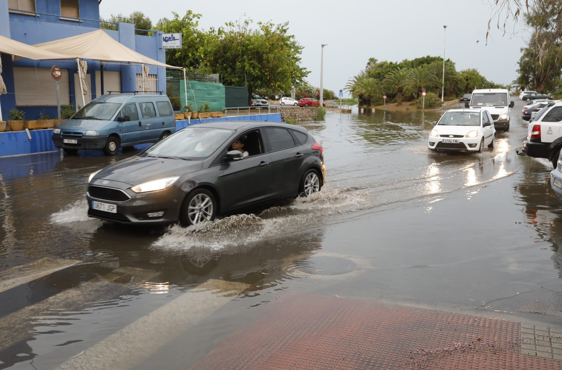 Inundaciones en Sagunt en pleno julio
