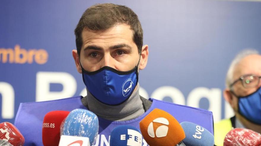 """Iker Casillas: """"Volver al Madrid estaría muy bien"""""""
