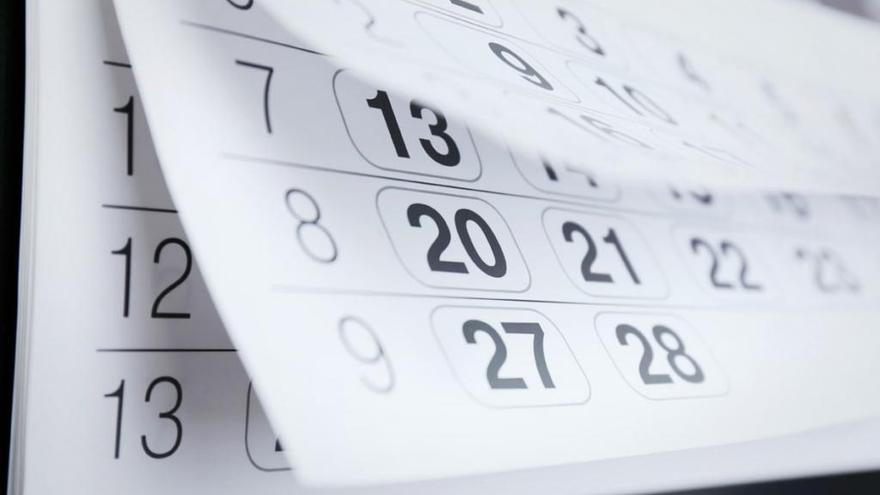 El calendario laboral de 2020 en Asturias
