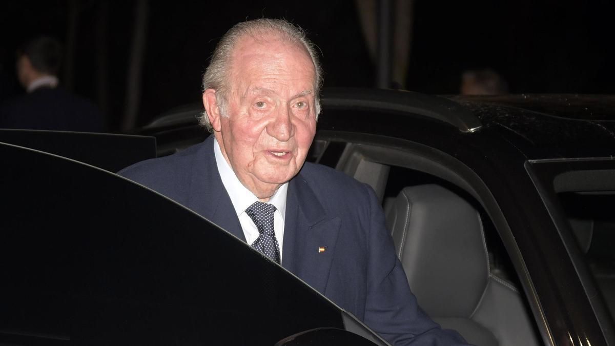 El rey emérito, Juan Carlos.