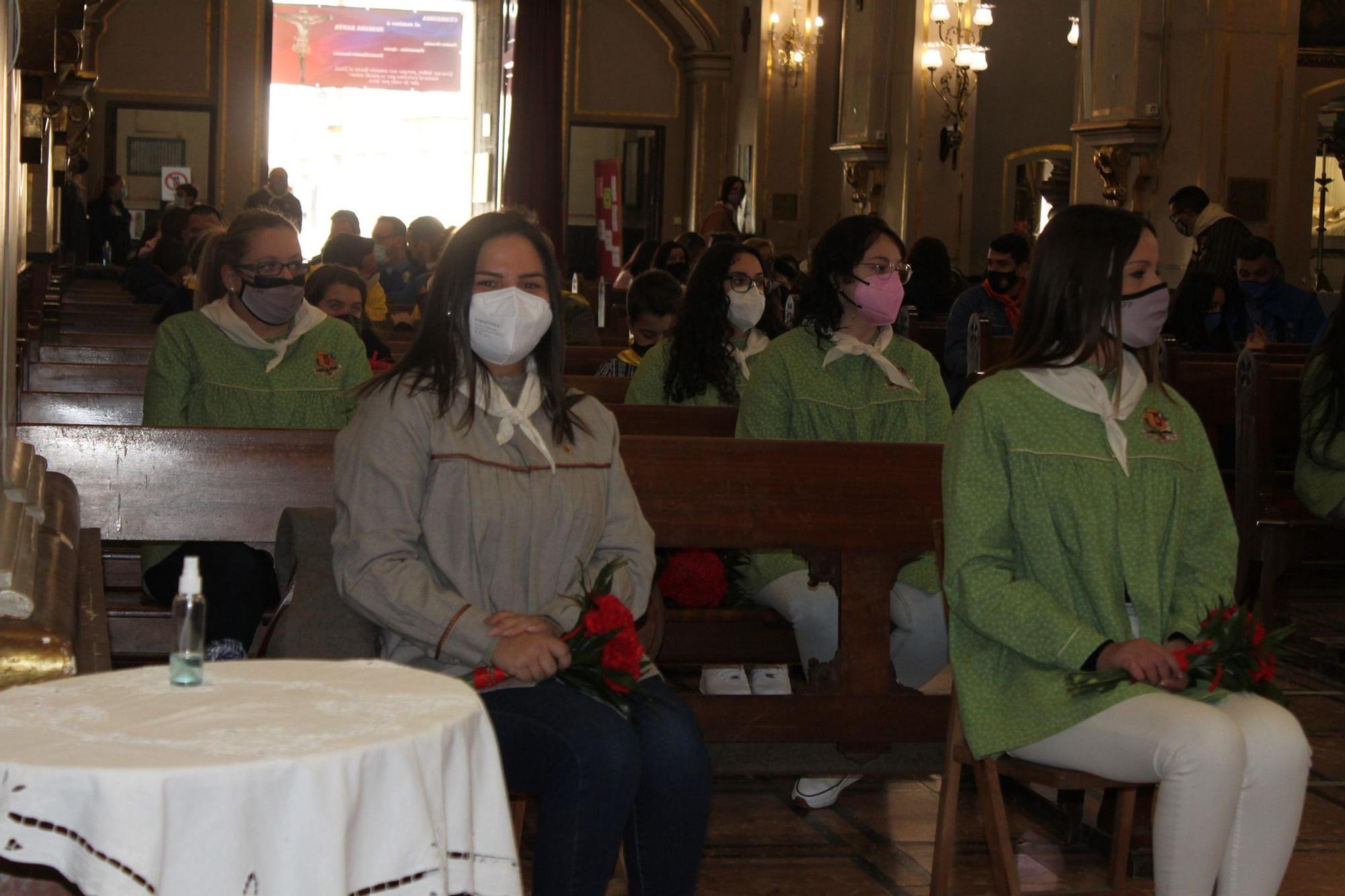 Ofrenda fallera a Sant Josep en Paterna