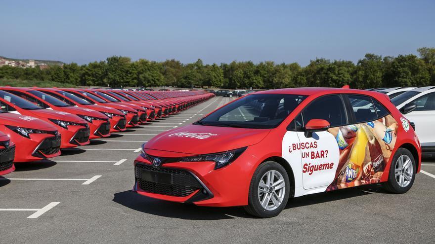 Coca-Cola European Partners incorpora vehículos híbridos en su flota comercial para reducir su impacto ambiental