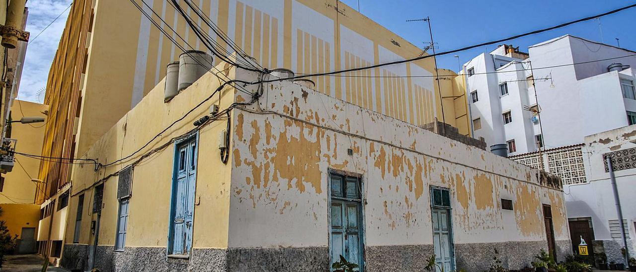 Imagen de algunas de las casas terreras del pasaje del Bosque. | | JOSE CARLOS GUERRA
