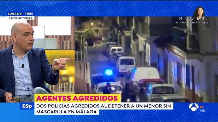 El corte de un colaborador que recibió Susana Griso durante la emisión de Espejo Público