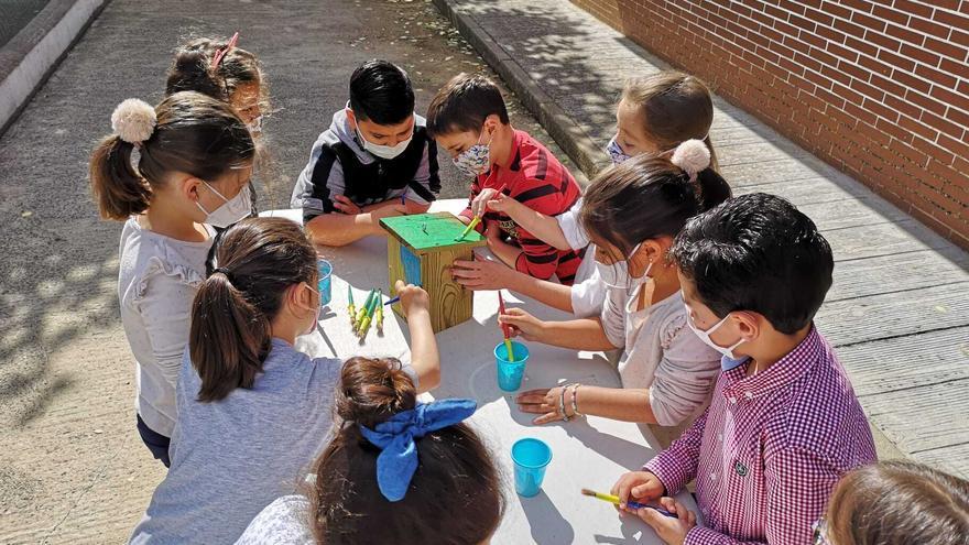 375 alumnos participan en la actividad del ecobús