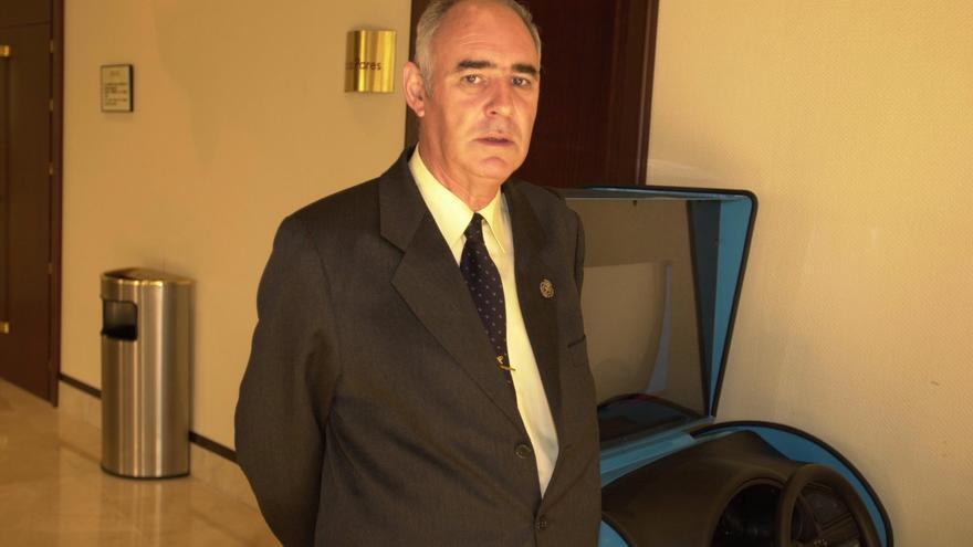 """Isidoro Cortina, historiador y exjefe de la Policía Local, """"un hombre intachable que se desvivió por los demás"""""""