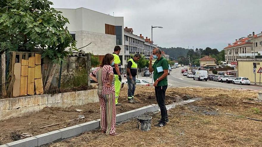 Un atajo conectará el centro urbano con la biblioteca de Nigrán