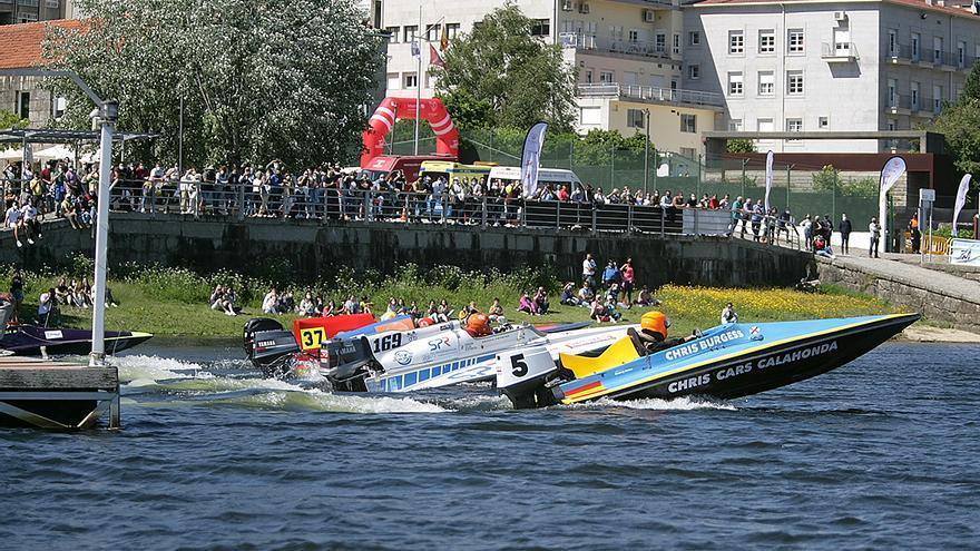 Los motores rugen en el Miño con el Campeonato de España de T-850 y GT-60
