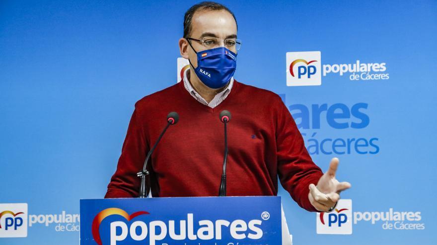 El PP critica que la Junta no diga «no a la mina»
