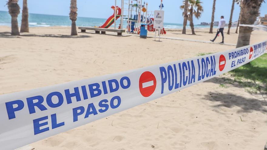 Torrevieja y Guardamar también cerrarán sus playas en la noche de San Juan