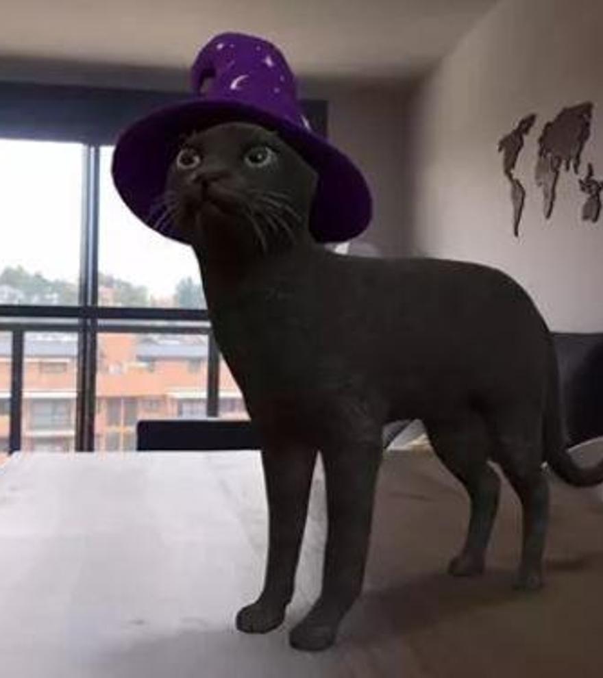 Fantasmas, esqueletos y gatos: Google se disfraza por Halloween
