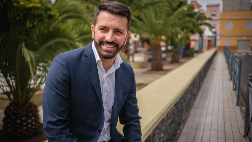 Jonathan Domínguez: «Se está viendo que CC es mucho más progresista que el actual gobierno»