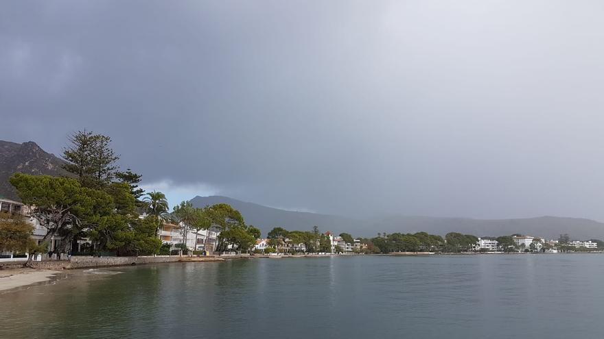 El tiempo en Mallorca: Las lluvias dejan 50 litros en Pollença y bajan las temperaturas
