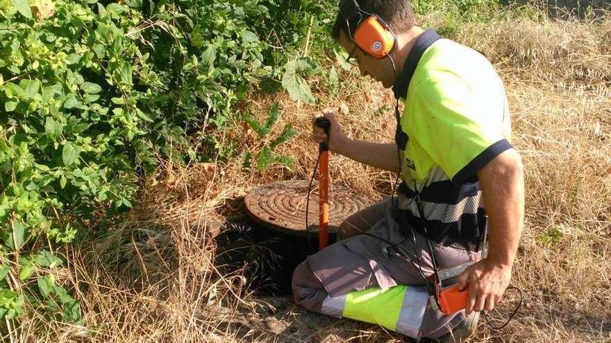 Localizan cerca de un depósito la fuga que mantiene sin agua a la mitad de Alcañices