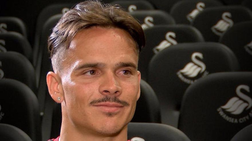 """Roque: """"Espero que Swansea se divierta viéndome jugar"""""""