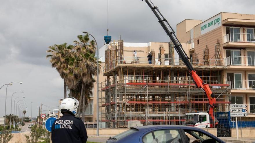 Der Baustopp trifft viele Hoteliers auf Mallorca hart