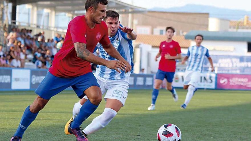 El Baleares golea al Binissalem en el último test antes de la Liga
