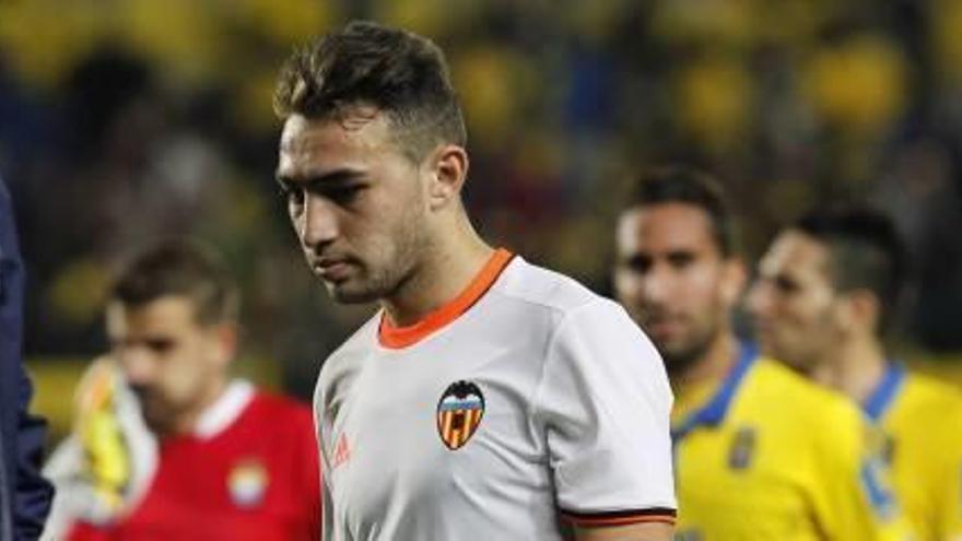Munir pide perdón por su expulsión ante Las Palmas