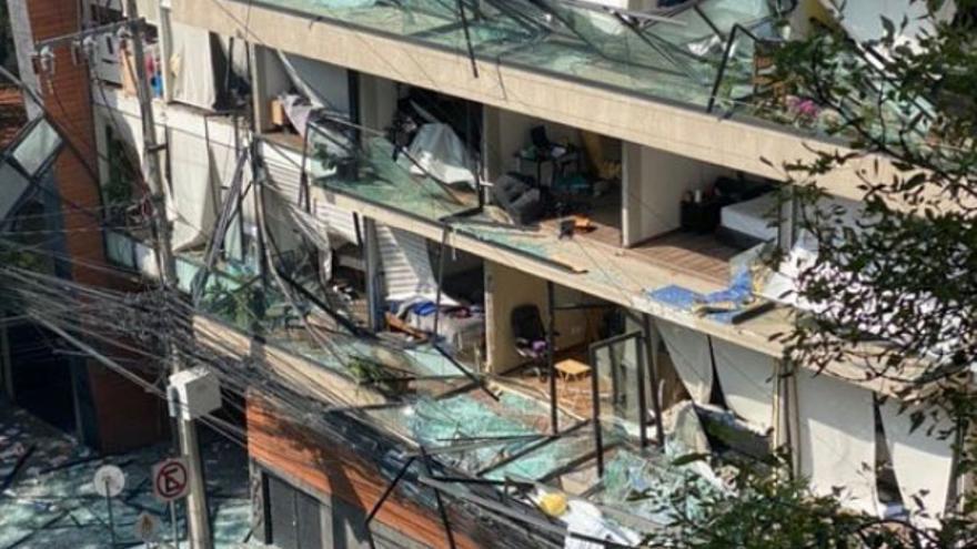 Al menos 22 heridos tras una explosión en un edificio en México