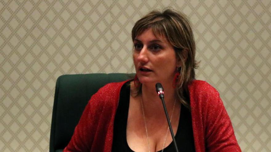 ERC situa Alba Vergés a la Mesa del Parlament
