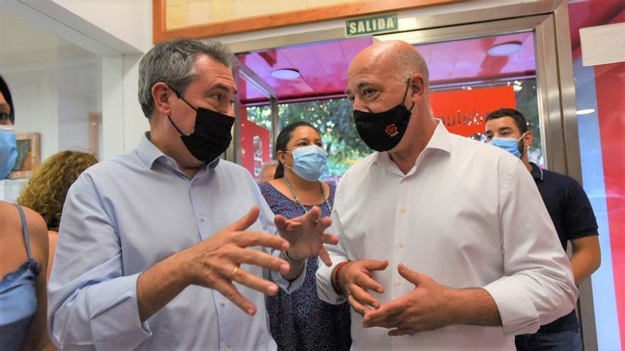 """Espadas lanza un mensaje de """"unidad"""" en la ejecutiva del PSOE en Córdoba"""