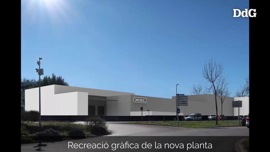 Noel invertirà 25 milions d'euros en una nova planta a Olot i contractarà 200 treballadors