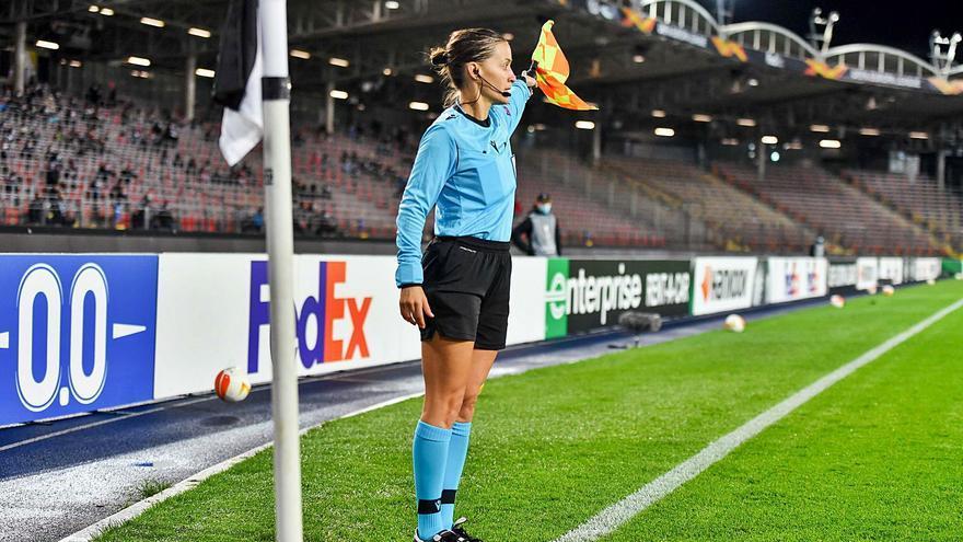"""""""Aquí no hay árbitros y árbitras; quien trabaja logra su objetivo"""""""
