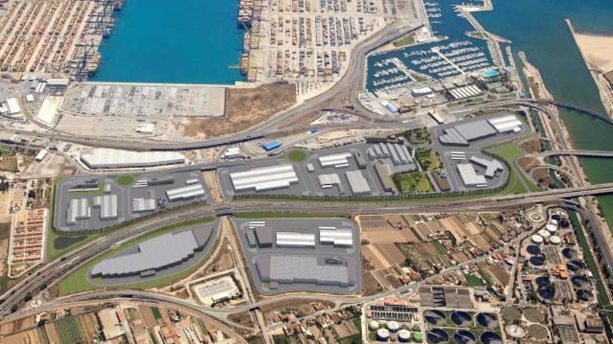 Ribó propone un corredor verde en la zona de ampliación de la depuradora