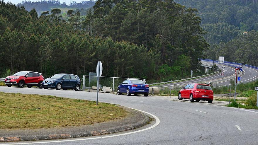 Moaña solicita un tercer aparcamiento disuasorio en el acceso de Meira a la Autovía