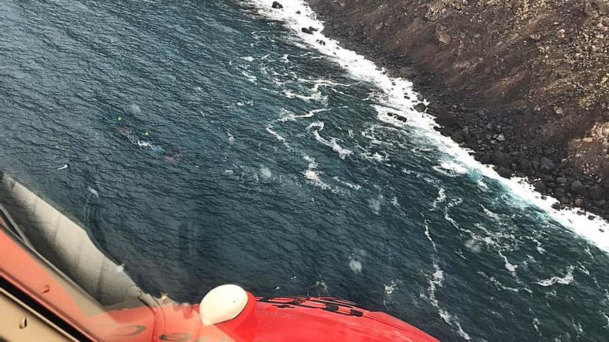 Hallado el cadáver de un pescador polaco que cayó el mar en La Palma