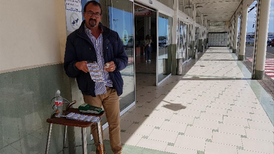 Un taxista del aeropuerto se lleva 240.000 euros de un premio de la ONCE