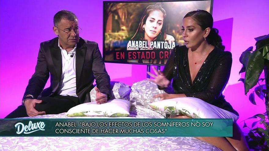 """Anabel Pantoja habla sobre su adicción en televisión: """"Me convierto en otra persona"""""""