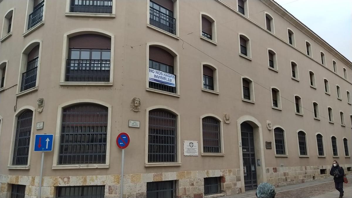 Residencia del Amor de Dios en la Rúa de los Francos de Zamora