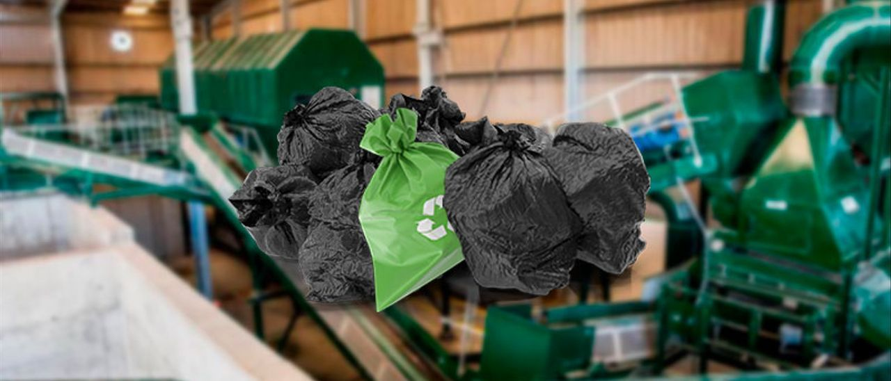 La planta de compostaje de Sogama solo recibe el 2% de la basura prevista