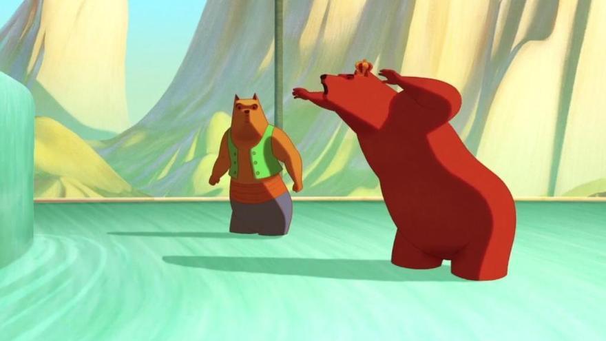 'La famosa invasión de los osos en Sicilia': Animación fuera de serie