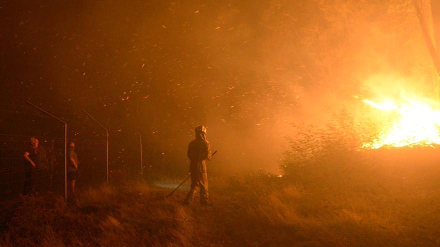 Los expertos advierten: los incendios de sexta generación son posibles en O Salnés